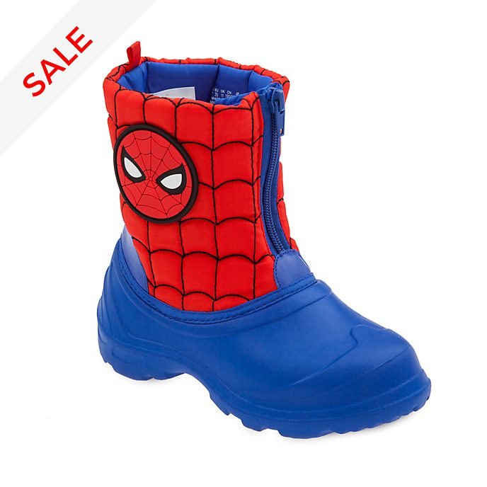 Disney Store Spider-Man Wellington Boots For Kids