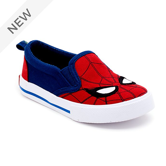 Disney Store Spider-Man Slip-On Trainers For Kids