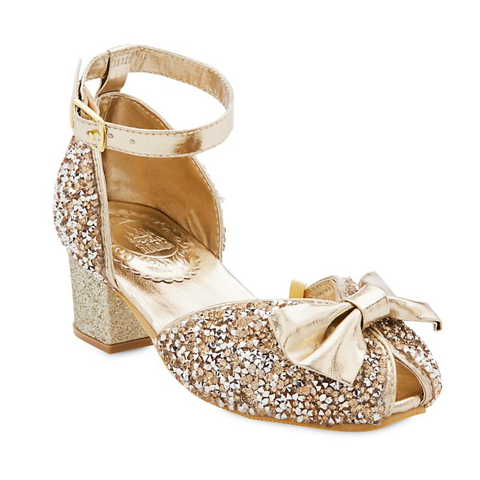 Disney Store Disney Princess Gold and Silver Shoes For Kids