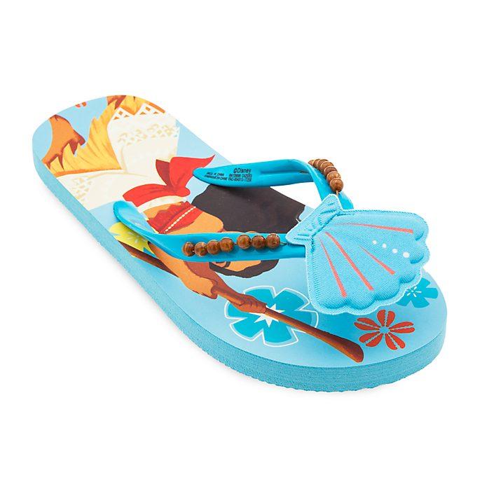 df48c3a2a1b91a Disney Store Moana Flip Flops For Kids