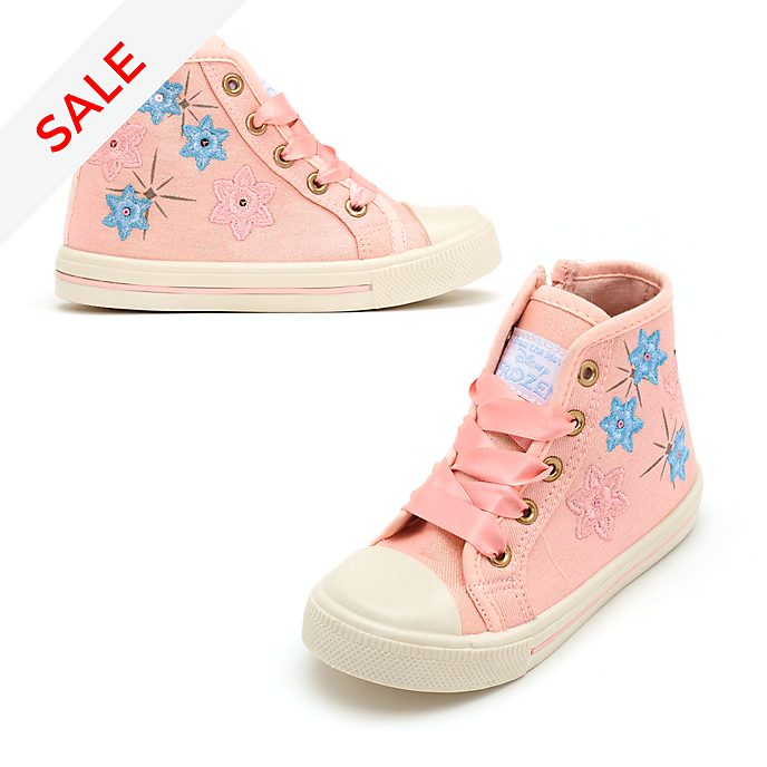 Disney Store Frozen High Top Trainers For Kids