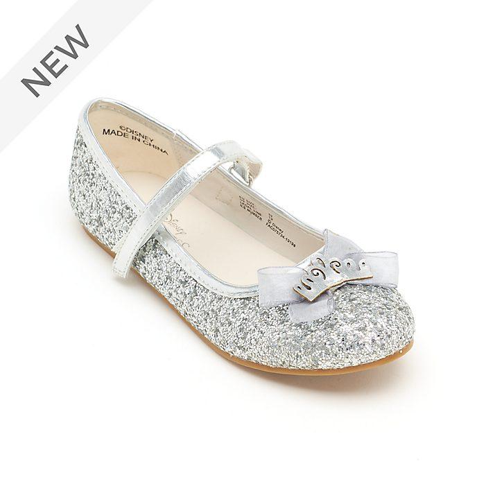 Disney Store Disney Princess Silver Glitter Shoes For Kids