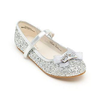 Disney Store Chaussures Princesses Disney à paillettes argentées pour enfants