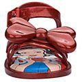 Melissa Sandales Blanche Neige à paillettes rubis pour bébé