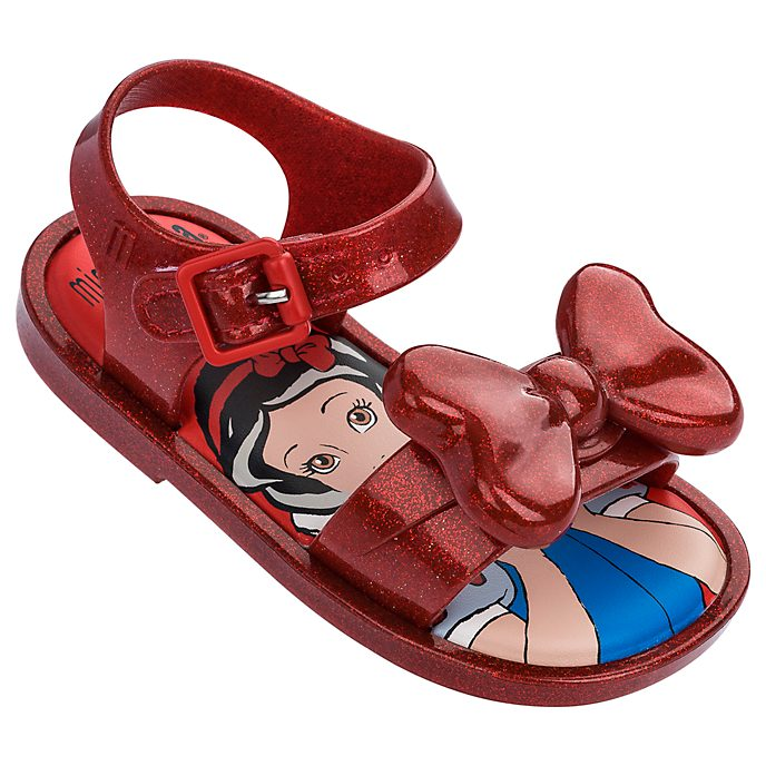 Melissa Snow White Baby Ruby Glitter Sandals
