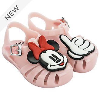 Melissa Minnie Mouse Baby Pink Jelly Sandals