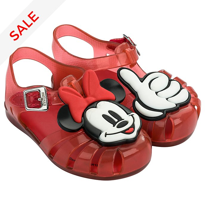 Melissa Minnie Mouse Baby Red Jelly Sandals