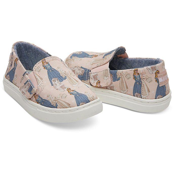 Zapatos sin cordones para niña Bella Durmiente Tiny Luca, TOMS