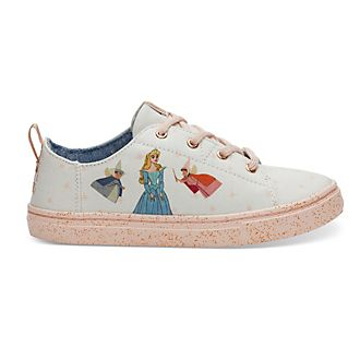 TOMS Sleeping Beauty Youth Lenny Trainers For Kids