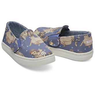 Zapatos sin cordones para niña Blancanieves Tiny Luca, TOMS