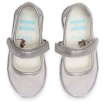 TOMS scarpette stile Mary Jane bimbi Cenerentola