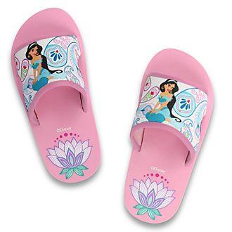 Sandalias para la playa infantiles princesa Jasmine, De Fonseca