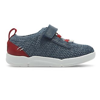 Clarks Captain America Tri Hero First Trainers For Kids