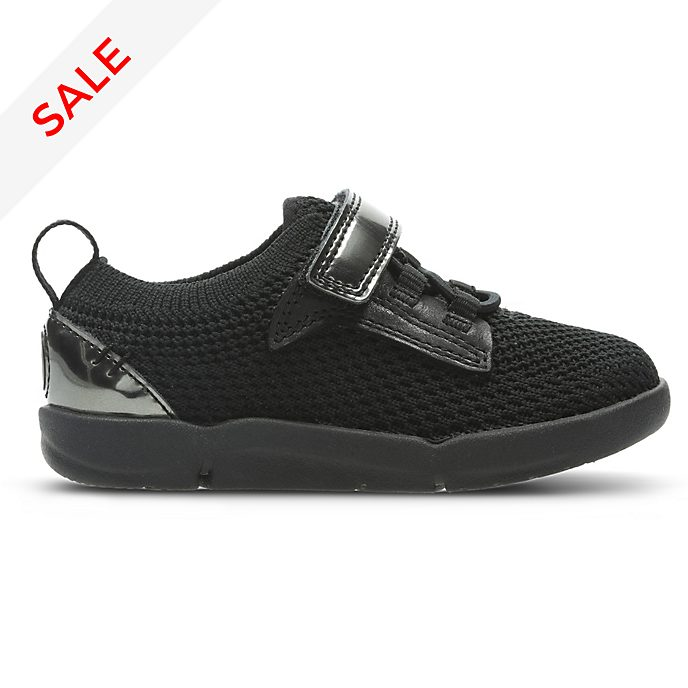 Clarks Black Panther Tri Hero First Trainers For Kids