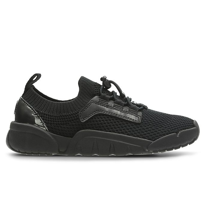 Clarks Black Panther Tri Hero Infant Trainers For Kids