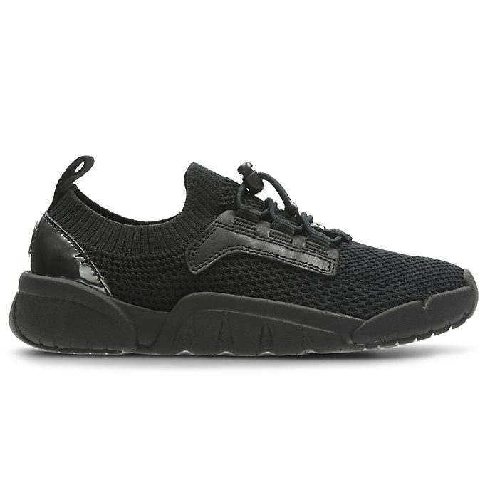 Clarks Black Panther Tri Hero Junior Trainers For Kids