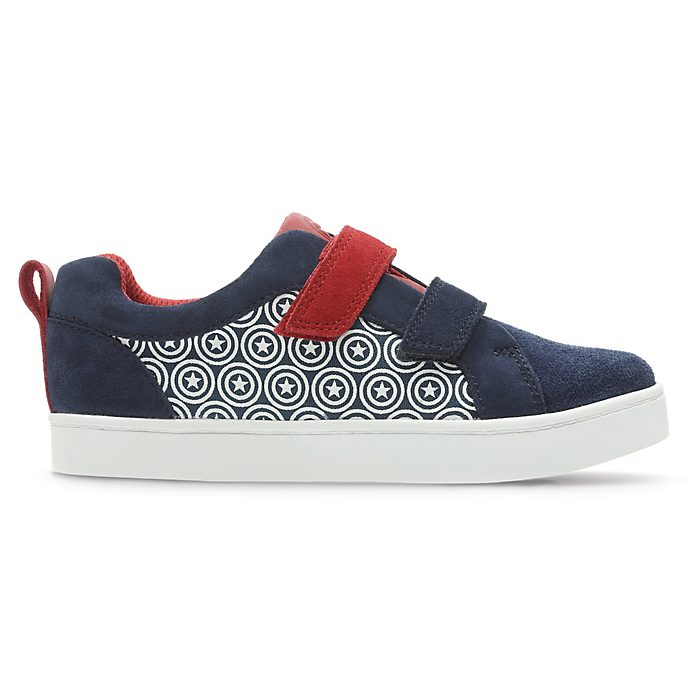 Clarks Captain America City Hero Infant Trainers For Kids