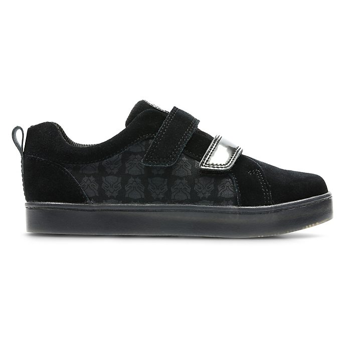 Clarks Black Panther City Hero Junior Trainers For Kids