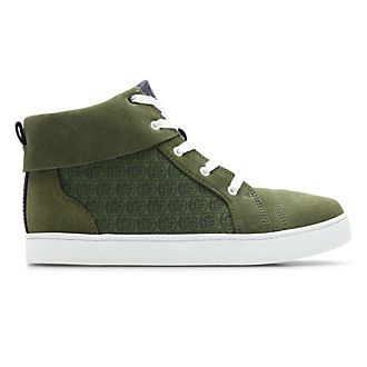 Clarks Hulk High Top Junior Trainers For Kids
