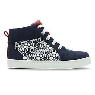 Clarks Captain America High Top Infant Trainers For Kids