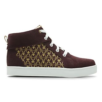 Clarks Iron Man High Top Infant Trainers For Kids