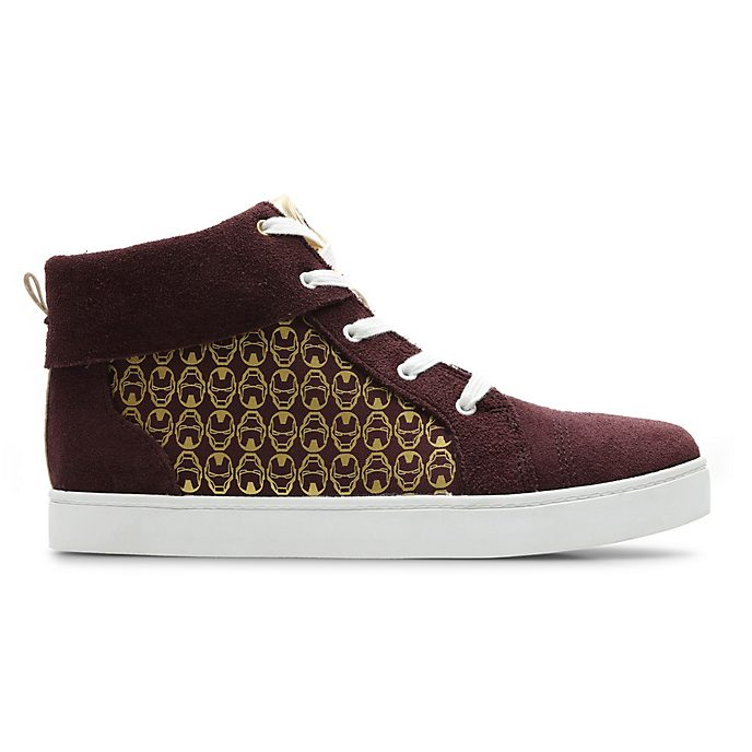 Clarks Iron Man High Top Junior Trainers For Kids