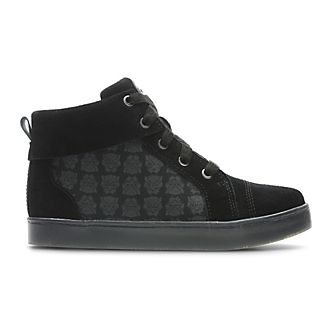 Clarks Black Panther High Top Infant Trainers For Kids