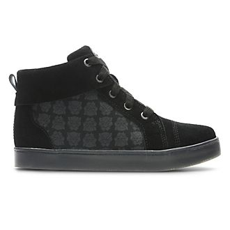 Clarks Black Panther High Top Junior Trainers For Kids