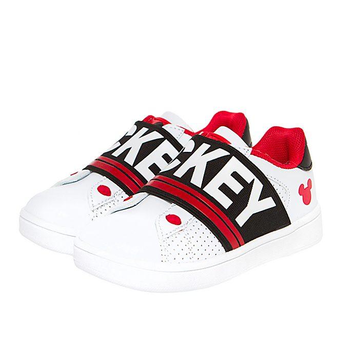 Arnetta - Micky Maus - Turnschuhe in weiß und rot für Kinder, klein