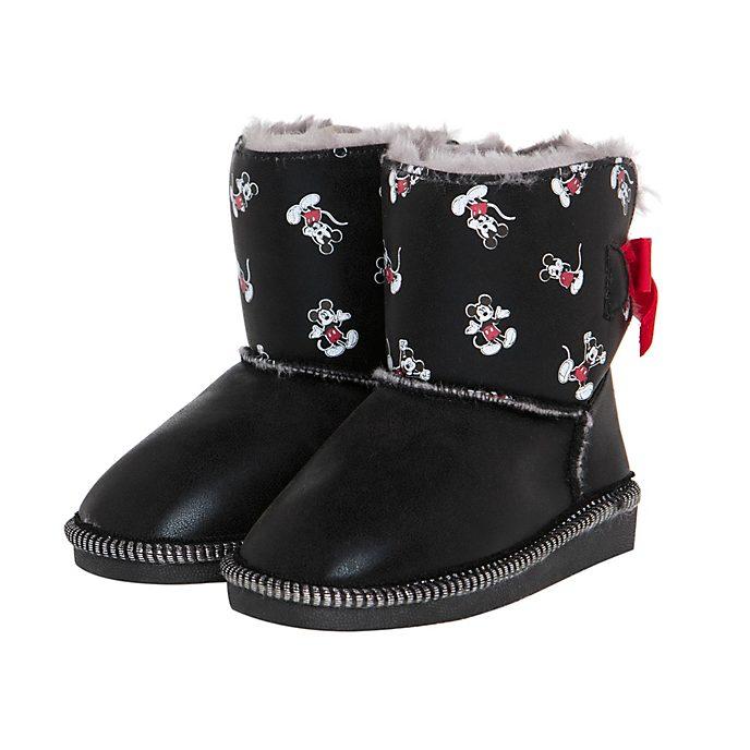Arnetta botas infantiles pequeñas Mickey Mouse