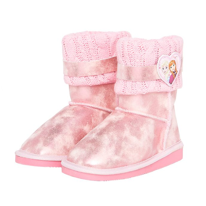 Arnetta botas infantiles rosa Frozen: El Reino de Hielo