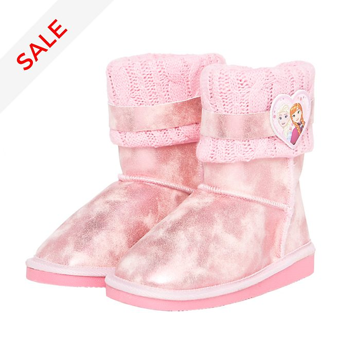 Arnetta Frozen Pink Boots For Kids