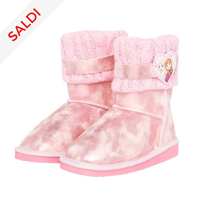 Stivali rosa bimbi Arnetta Frozen - Il Regno di Ghiaccio