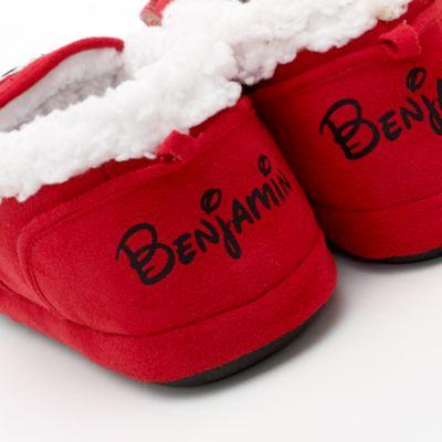 Micky Maus Hausschuhe mit Weihnachtsmotiv für Männer