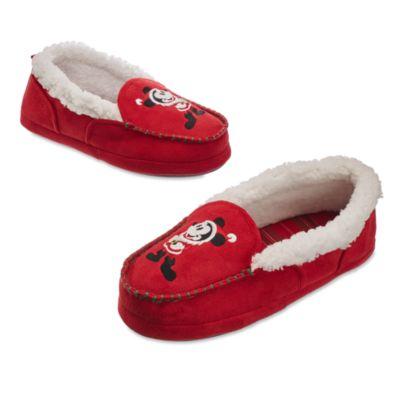 Mickey Mouse-julehjemmesko til mæn