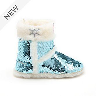 Disney Store Frozen 2 Reversible Sequin Slippers For Kids