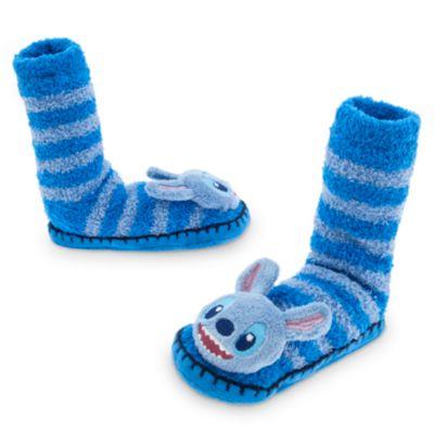 Chaussons chaussettes Stitch pour enfants