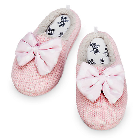 Minnie Mouse Ladies' Slippers