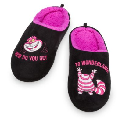 Cheshire Cat Adult Slippers