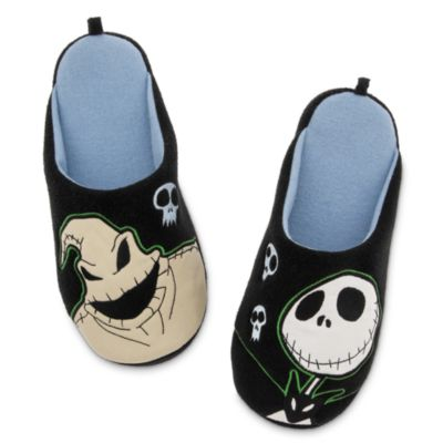 The Nightmare Before Christmas Slippers For Men