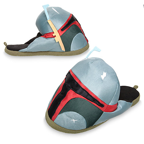 Boba Fett Slippers For Adults, Star Wars