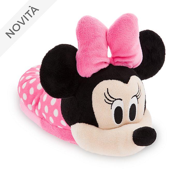 raccolto vari stili ampia scelta di colori e disegni Pantofole bimbi Minni Disney Store