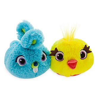 Disney Store - Toy Story4 - Ducky und Bunny - Hausschuhe für Kinder