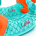 Disney Store The Little Mermaid Slippers For Kids