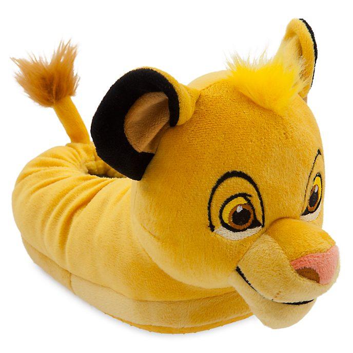 Disney Store Simba Slippers For Kids