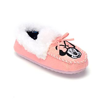 Disney Store Minnie Mouse Slippers For Kids