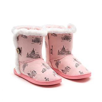 Disney Store Winnie The Pooh Ladies' Slippers