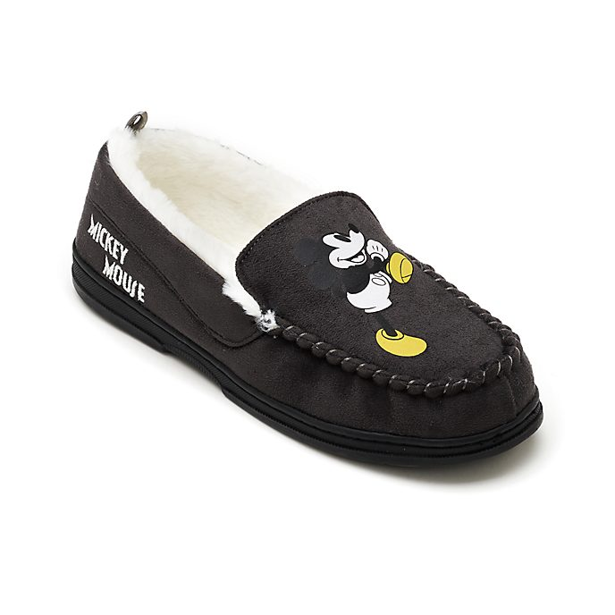 Disney Store Mickey Mouse Slippers For Adults