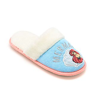 Disney Store The Little Mermaid Slippers For Adults