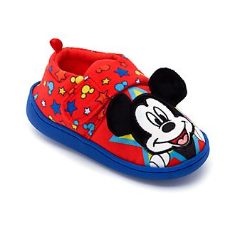 Disney Store Mickey Mouse Slippers For Kids